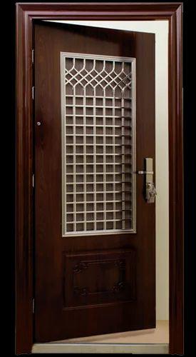 Security Steel Door इस्पात का सुरक्षित दरवाजा सिक्योरिटी