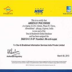 NSIC D&B Certificate
