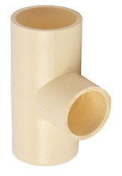 Tomson CPVC Tee, for Plumbing Pipe