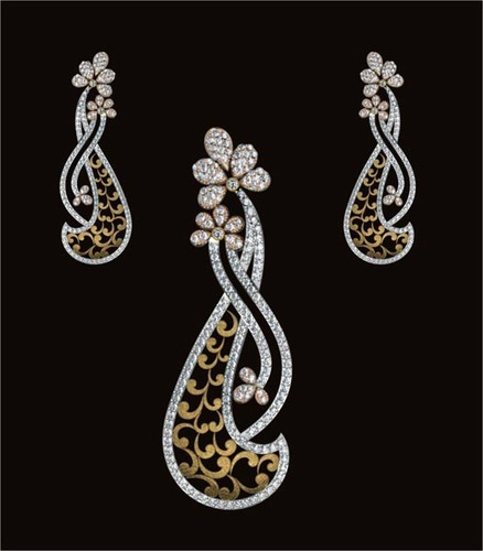 Diamond pendant set jewellers diamonds diamond jewels vihaan diamond pendant set jewellers audiocablefo