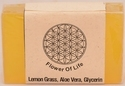 Lemon Grass Glycerin Soap - Transparent