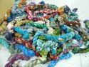 Sari Silk Printed Chiffon Ribbons In Multicolor