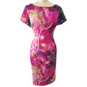 Digital Printed Ladies Dress Fabric