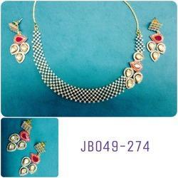 Kundan AD Necklace