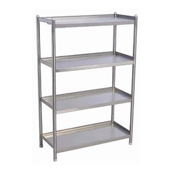 commercial kitchen storage racks - sastha kitchen equipments
