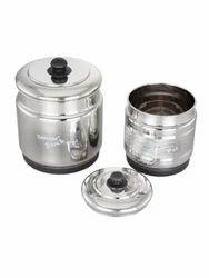Stainless Steel Storage Pot