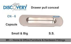 Drawer Pull Steel Conceal