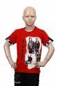 Unisex Half Sleeve Kids Cotton T-shirt, 3-14 Years