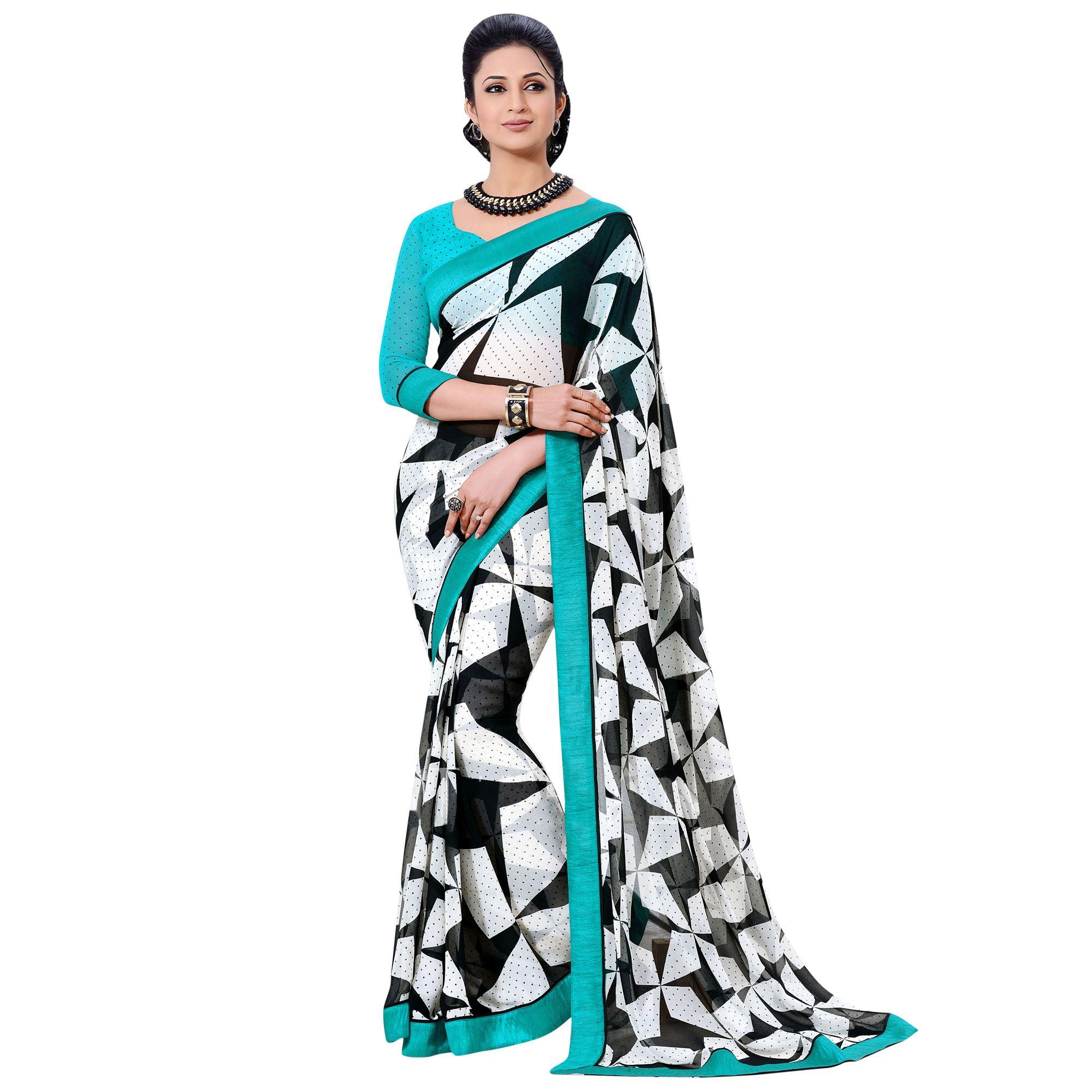 Black White Saree Drape Saree ड ज इनर स ड In Rklp Surat Hypnotex Private Limited Id 9976863233