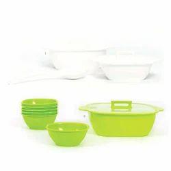 Square Serving Bowl Set & Pudding Set