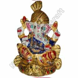 Ganesha Statues With Pagri