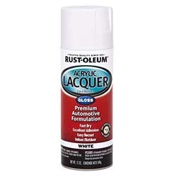 Rust Oleum Automotive Acrylic Lacquer Spray Paint