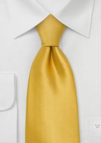Yellow Color Tie