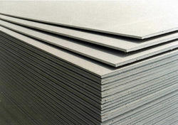 Fibre and cement particle boards