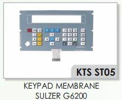 Sulzer G6200 Keypad Membrane