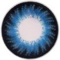 Oceanic Blue Color Contact Lens