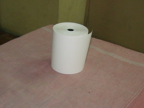 White Plain Large Size Thermal Paper Rolls, GSM: 80 - 120