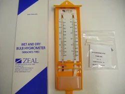 Wet & Dry Bulb Hygrometer