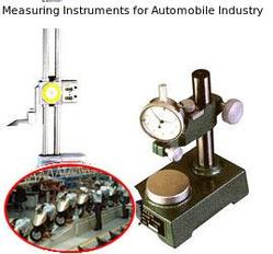 Measuring Instruments for Automobile Industry
