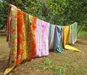 Vintage Ralli Kantha Quilt