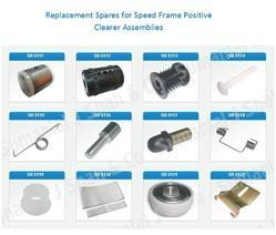 Replacement Spares For Positive Clearer Assemblies