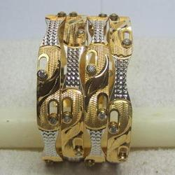 Fancy Moving Stone Bangle