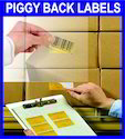 Piggyback Labels