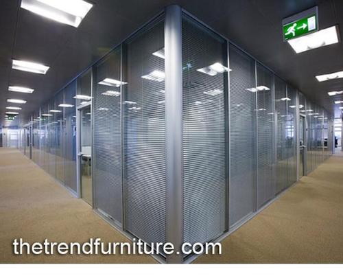 View Specifications Details Of Glass: Full Height Glass Partition