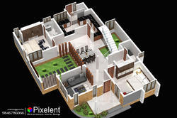 Pixelent   House Planning, 3D Plan   Kannur, Kerala