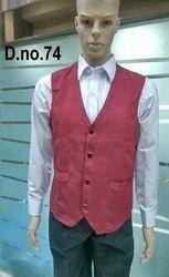 Red Service Waistcoat