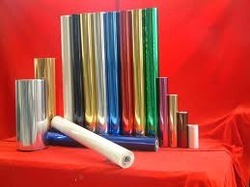 Hot Stamping Foil Paper 12 Micron For Textile