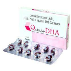 Docosahexaenoic Folic Acid Capsules
