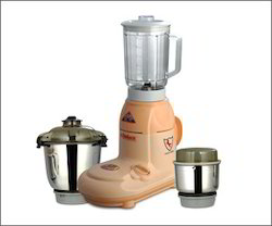 Stainless Steel Red Mixer Grinder, For Personal, 751 W - 1000 W