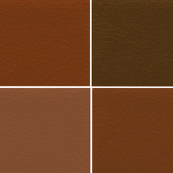 Tan Seat PVC Leather Cloth
