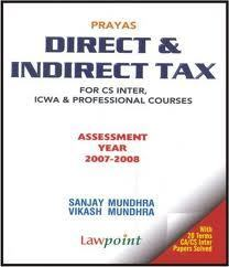 Direct and Indirect Tax Laws