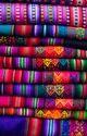 Bright Peruvian Textile Fabric