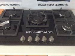 Glass Built In Hob With 5 Burner