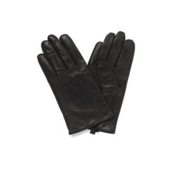 Leather Plain Gloves