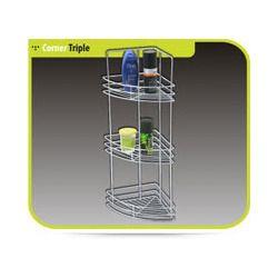 Triple Corner Basket