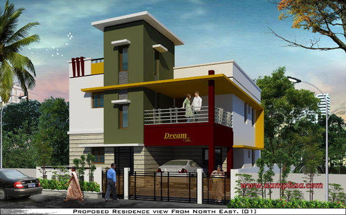 3d Front Elevation Design in Arumbakkam, Chennai | ID: 4845260548
