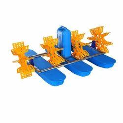 Four Impeller Paddle Wheel Aerator, 5(m3/h), 3 mm