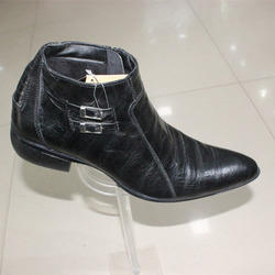 Leather Ankle Shoes
