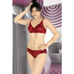 Non Padded Ladies Bra Set