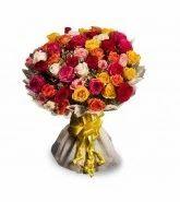 Beautifully Mixed Roses