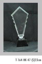 23cm Crystal Trophies