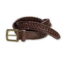 Men S Braided Leather Belt At Rs 500 Piece Periamet Chennai