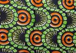 Cotton 35-36 African Print Fabric, GSM: 50-100, for Garments