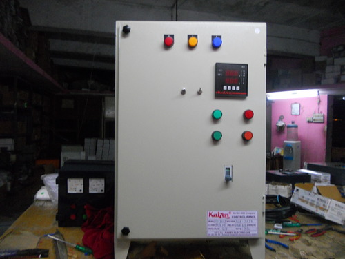 Three Phase Submersible Pump Control Panel Ats 10 Hp At Rs 18500 Rhindiamart: Wiring Diagram Single Phase Submersible Motor Starter At Gmaili.net