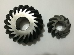 Helical Iron Bevel Gears, For Automobile Industry