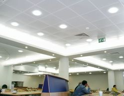 Stainless Steel Armstrong Metal False Ceiling, Thickness: 1 mm
